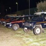 Carabinieri S.Teodoro auto camionette operazione contro droga