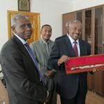 Eritrean Delegration in Russia